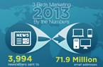 3 Birds Marketing 2013 By the Numbers