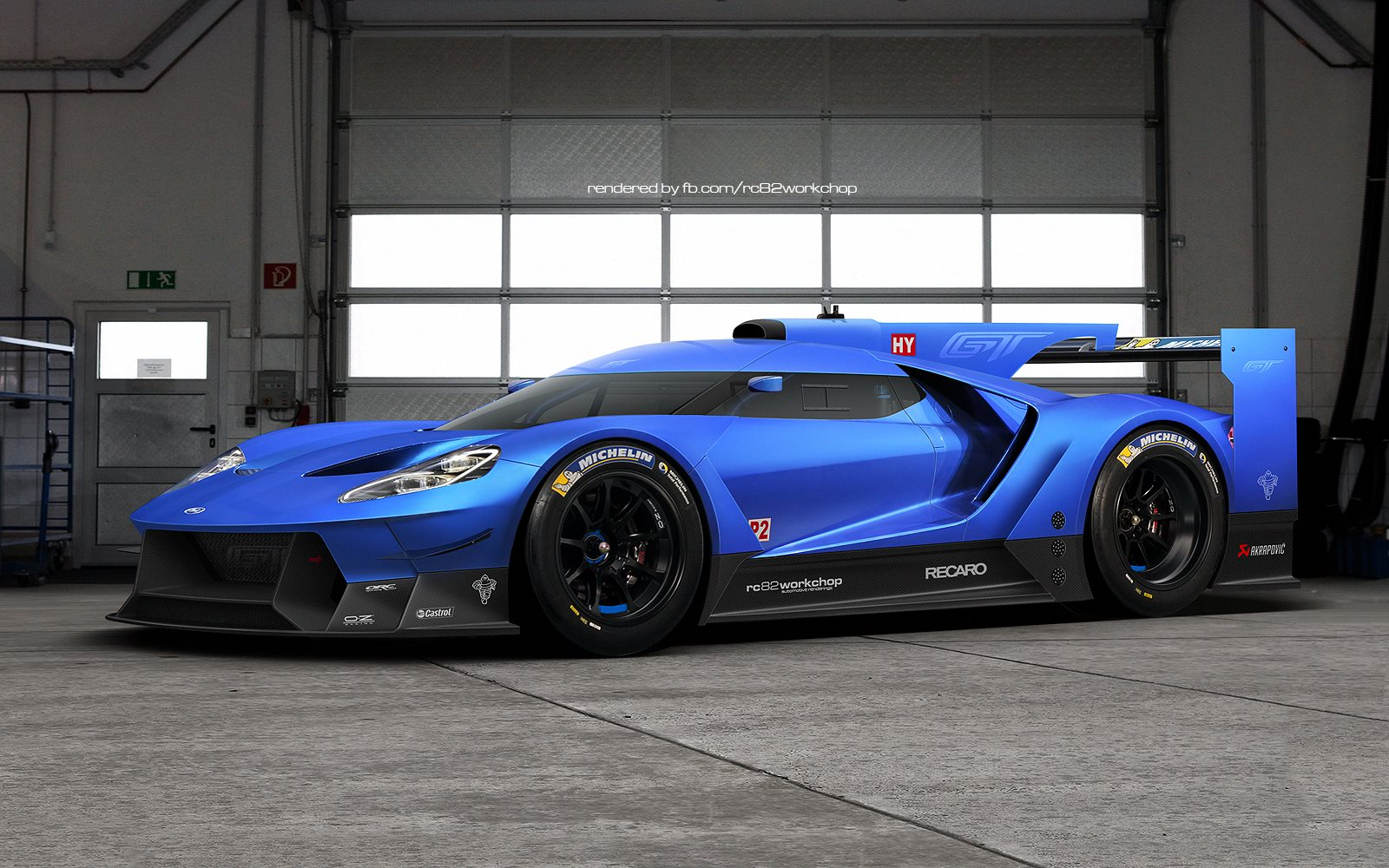 Len Stoler Ford - Check Out Artists' Rendering of the 2016 Ford GT ...