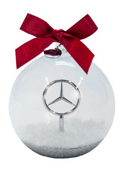 Rbm of atlanta the perfect gifts for the mercedes benz for Mercedes benz christmas ornament