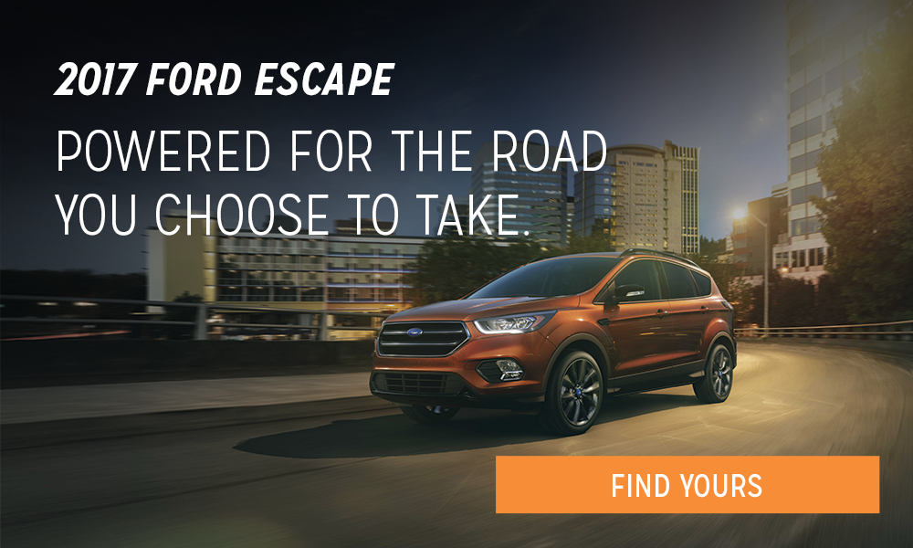 Ford 2017 Escape - January 2017 promo 1000x600