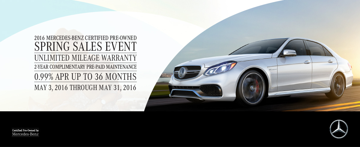 Mercedes benz of princeton the 2016 mercedes benz for Mercedes benz certified pre owned sales event
