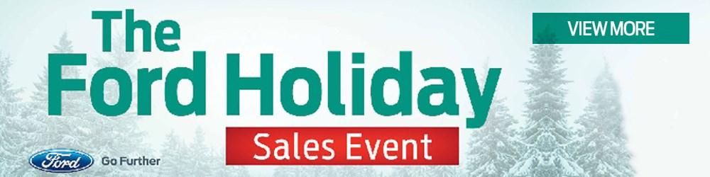 Ford Holiday Event promo image 2015