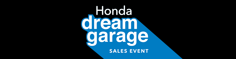 Honda Dream Garage 2017 March promo 1000x250