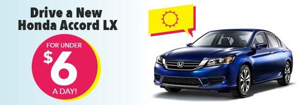 Honda Summer Clearance Accord