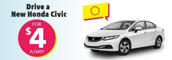 Honda Summer Clearance Civic