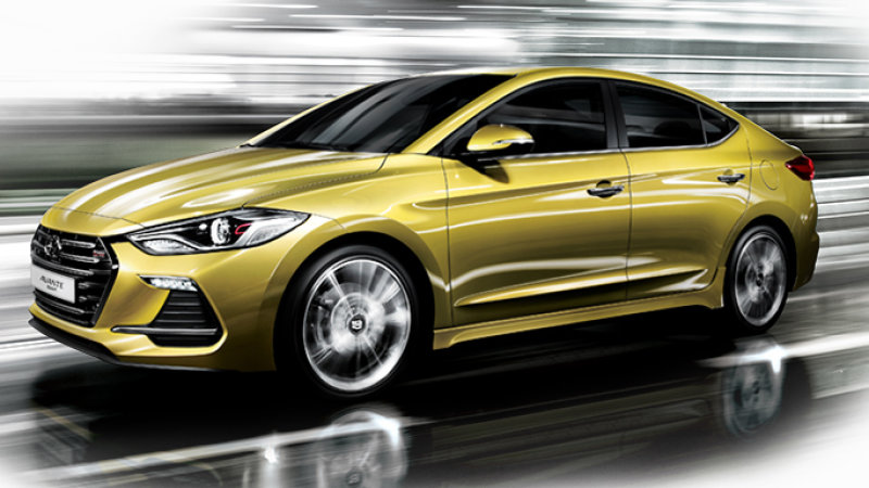 Beautiful Coming To The US Soon: The Powerful Hyundai Elantra Sport