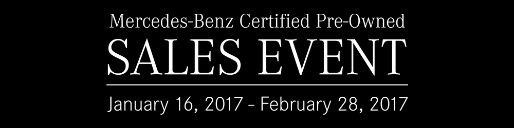 Mercedes benz of princeton february newsletter for Mercedes benz certified pre owned sales event