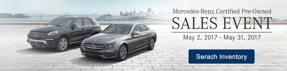 Sears imported autos 39 s monthly newsletter for Mercedes benz certified pre owned sales event