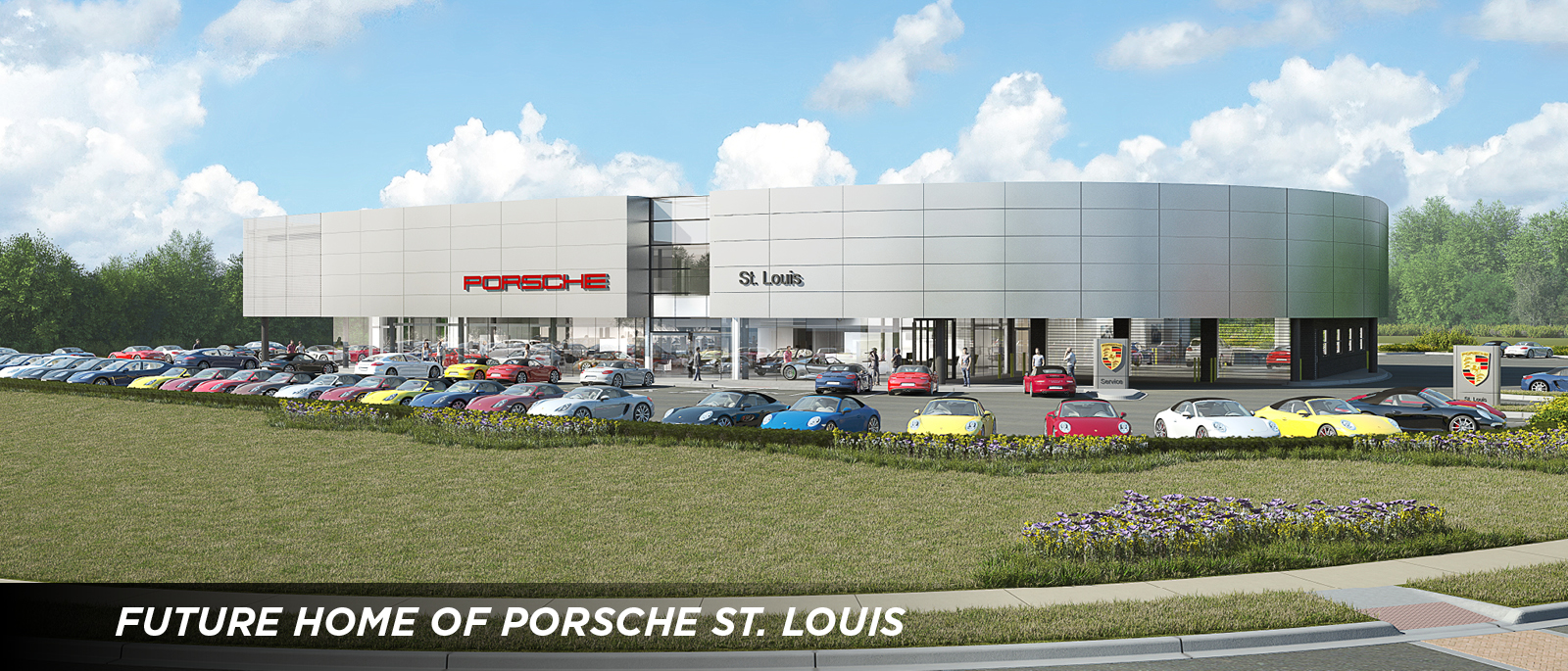 porsche st. louis - august update on new porsche st. louis site