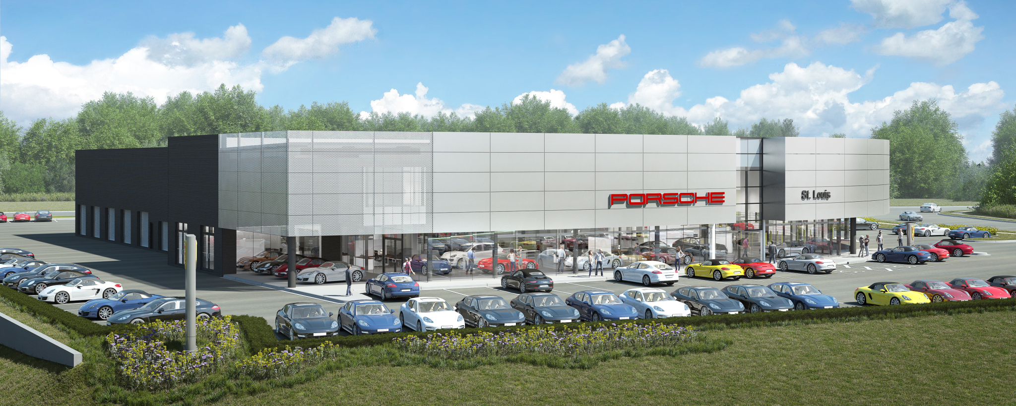 porsche st. louis - update on the new porsche st. louis building