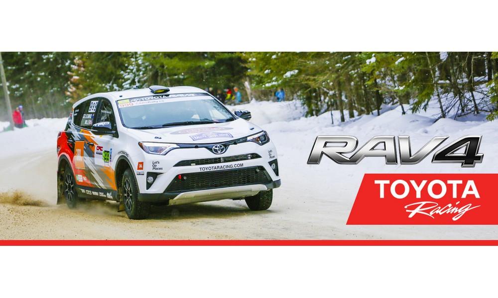 San Francisco Toyota Rally Rav4 Wins Olympus Rally For