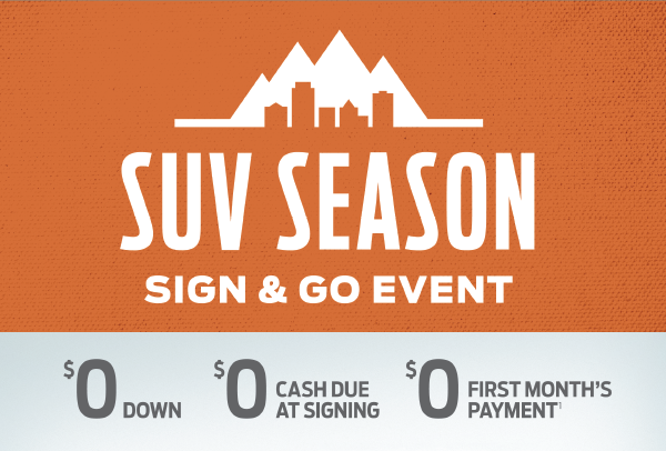 Ford SUV Season Sign & Go Event