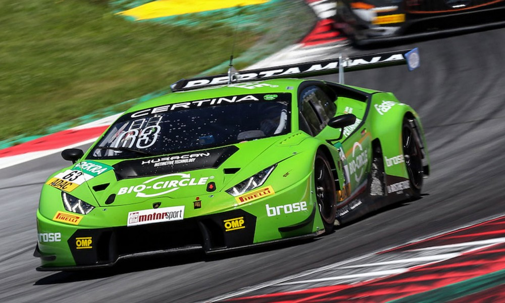 velocity honolulu lamborghini hurac n takes first in the adac gt masters. Black Bedroom Furniture Sets. Home Design Ideas