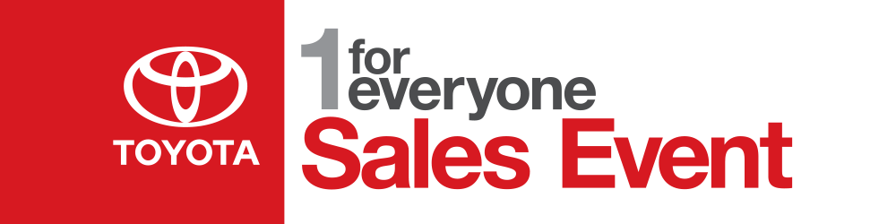 Toyota 1 for Everyone Sales Event
