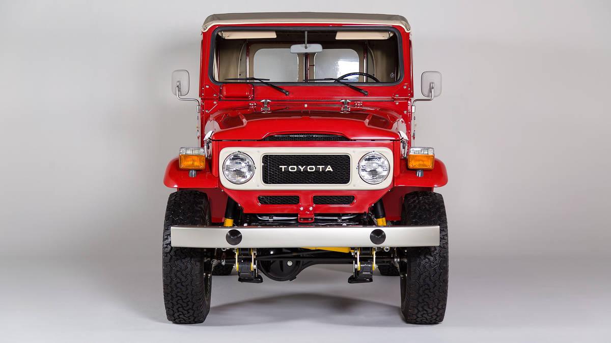 Toyota FJ40 Land Cruiser Models Returning To The States
