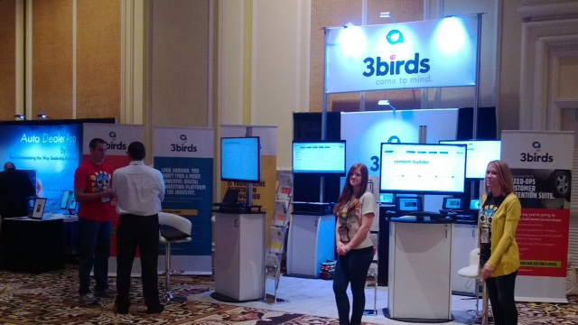 3 Birds Marketing Booth 1209 Digital Dealer 15