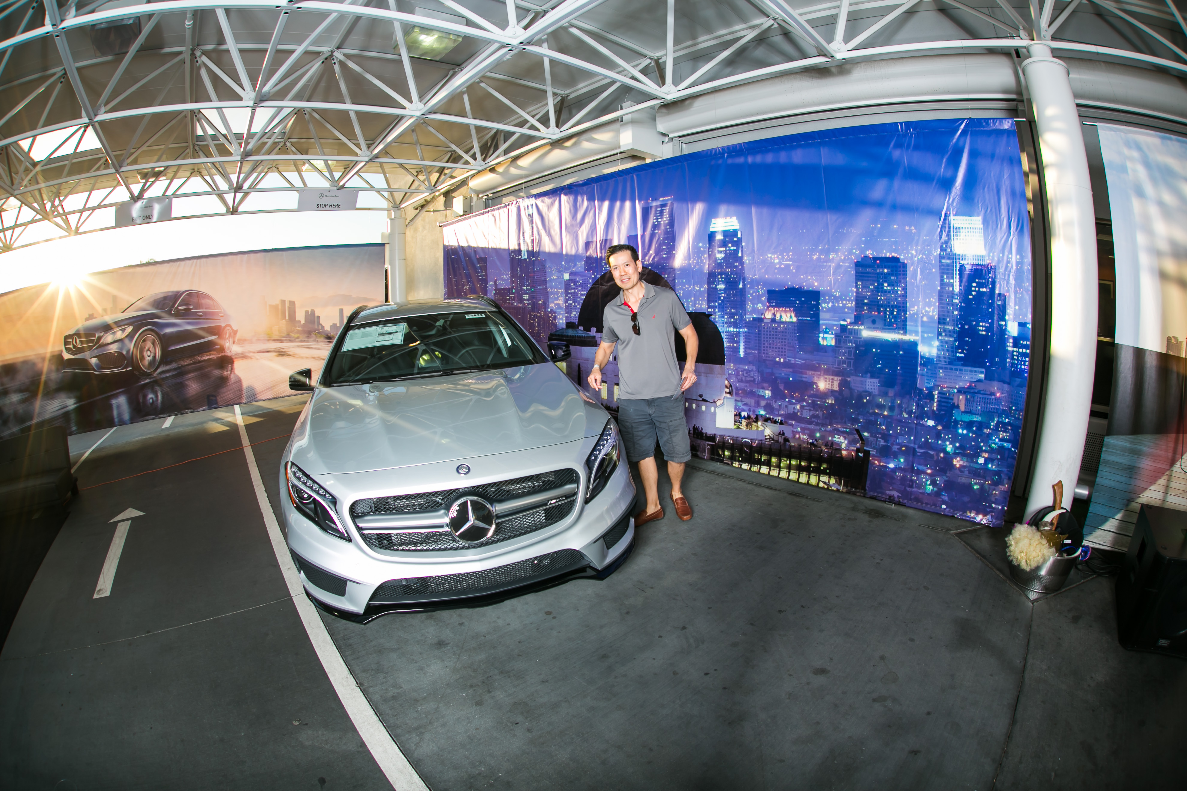 Rusnak arcadia hosts mercedes benz c class and gla launch for Mercedes benz of arcadia