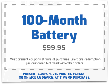 100-Month Battery – $99.95