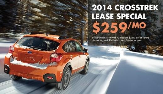 2014 XV Crosstrek $259 Lease