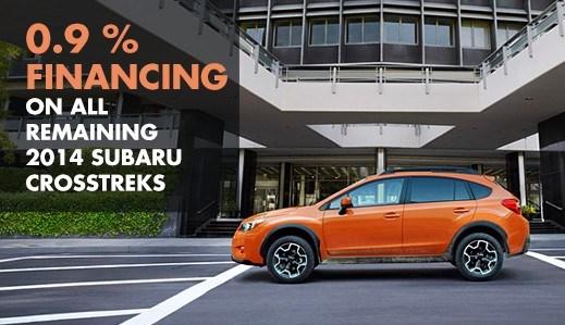 2014 Subaruu XV Crosstrek 0.9% APR