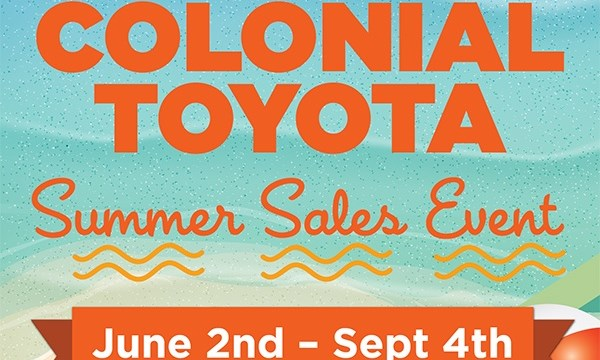 Colonial Toyota Summer Sales Event