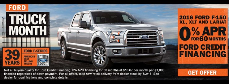 Doug Henry Ford Truck Month Sale