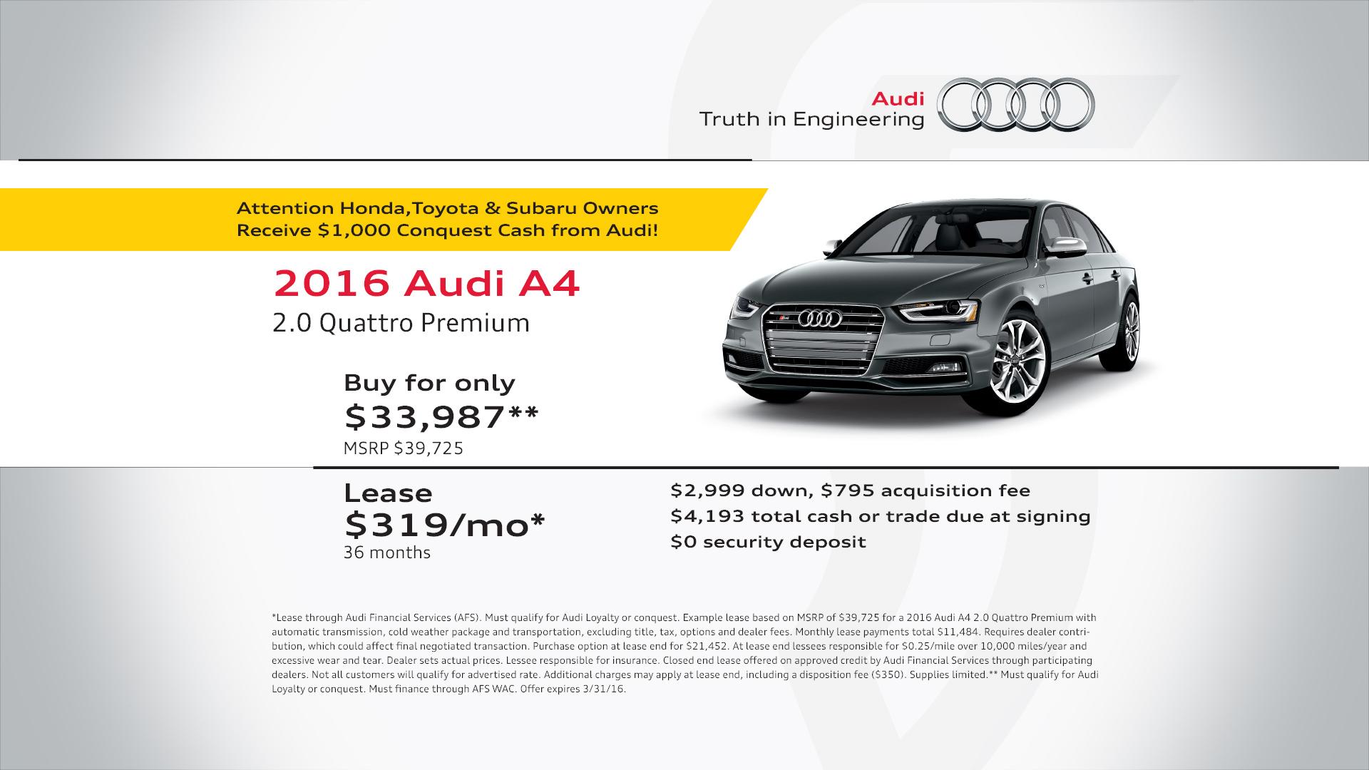 specials print audi care oil edge coupon leading change leadingedgecoupons auto