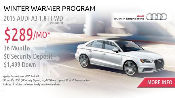 January Audi offer A3