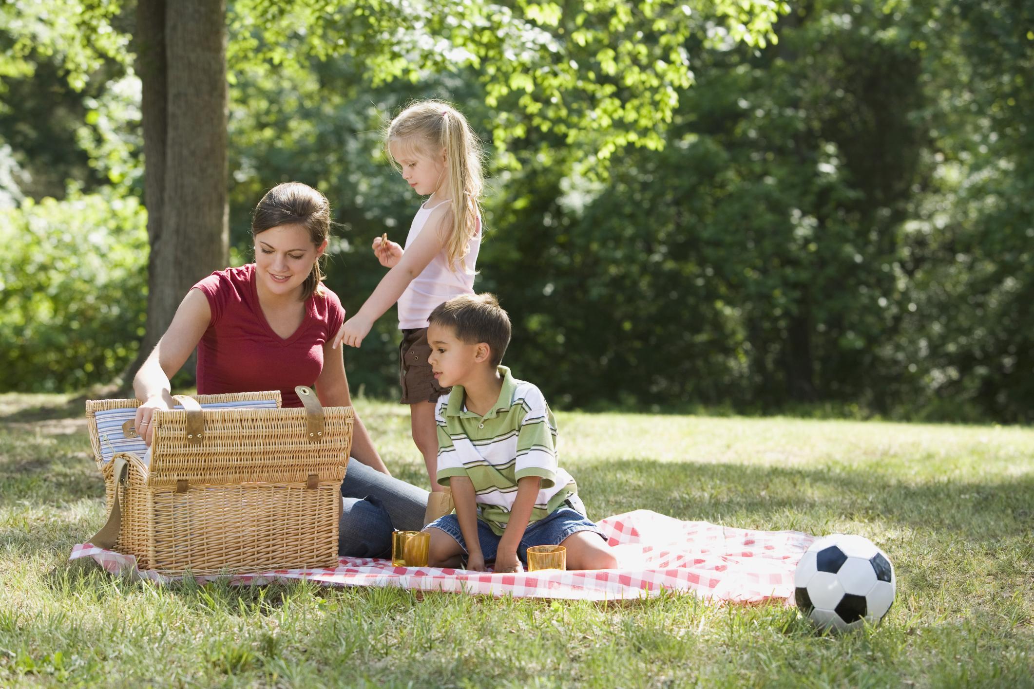 С мамочками на пикнике 19 фотография