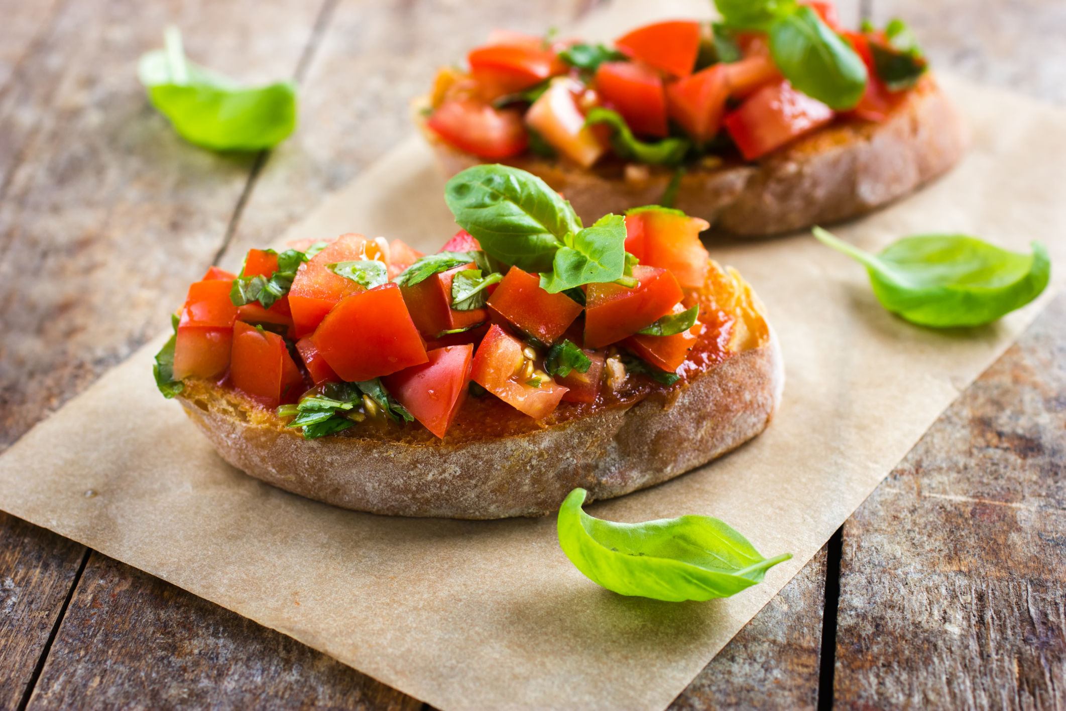 Image result for Tomato Caper Bruschetta