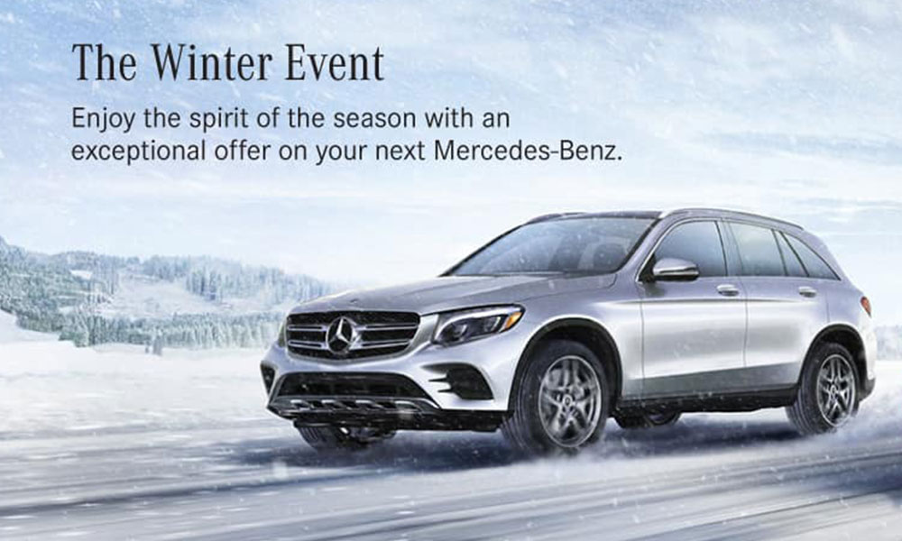 Mercedes benz of princeton the mercedes benz winter event for Mercedes benz of princeton lawrence township nj