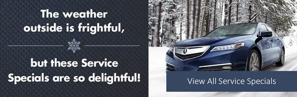 Acura January Service