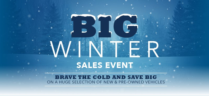 Big Winter Sales Event