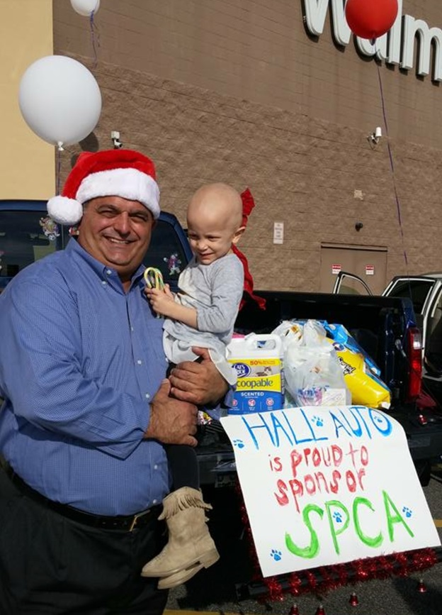 Hall Ford Hyundai Elizabeth City And Other Area Businesses Came Together To  Support The STUFF THE SUV Event This Past Saturday, 12/13 At The Local  Walmart ...
