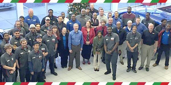 Hall Nissan Chesapeake December Newsletter
