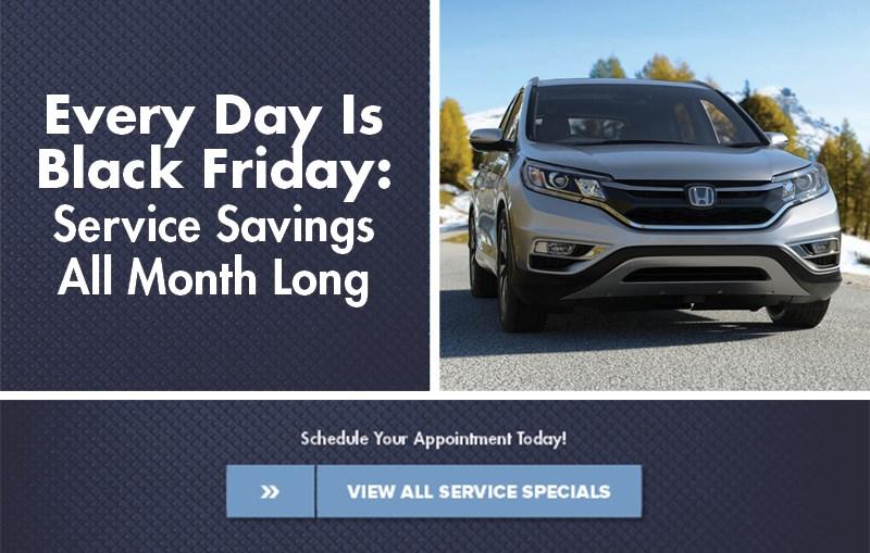 Honda Black Friday's Sales Event