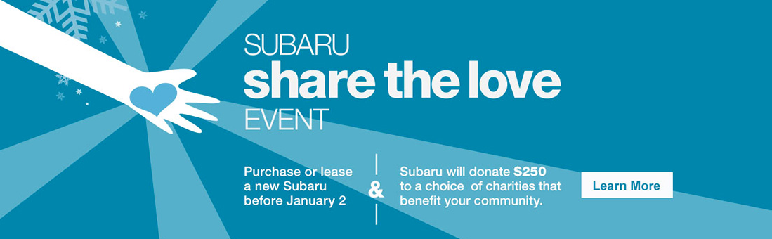 Heritage Volkswagen Subaru - Share The Love with Subaru!
