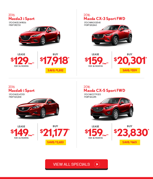 Mazda Dealers Maryland: The Biggest Sales Event Is