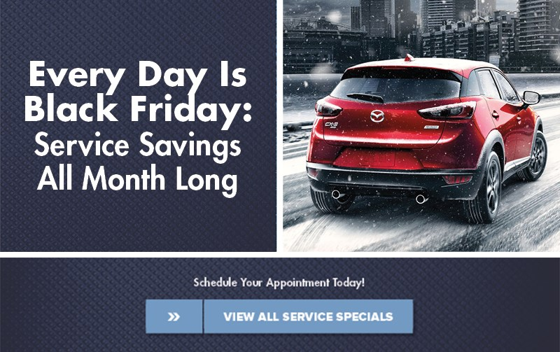Mazda Black Friday Sales Event