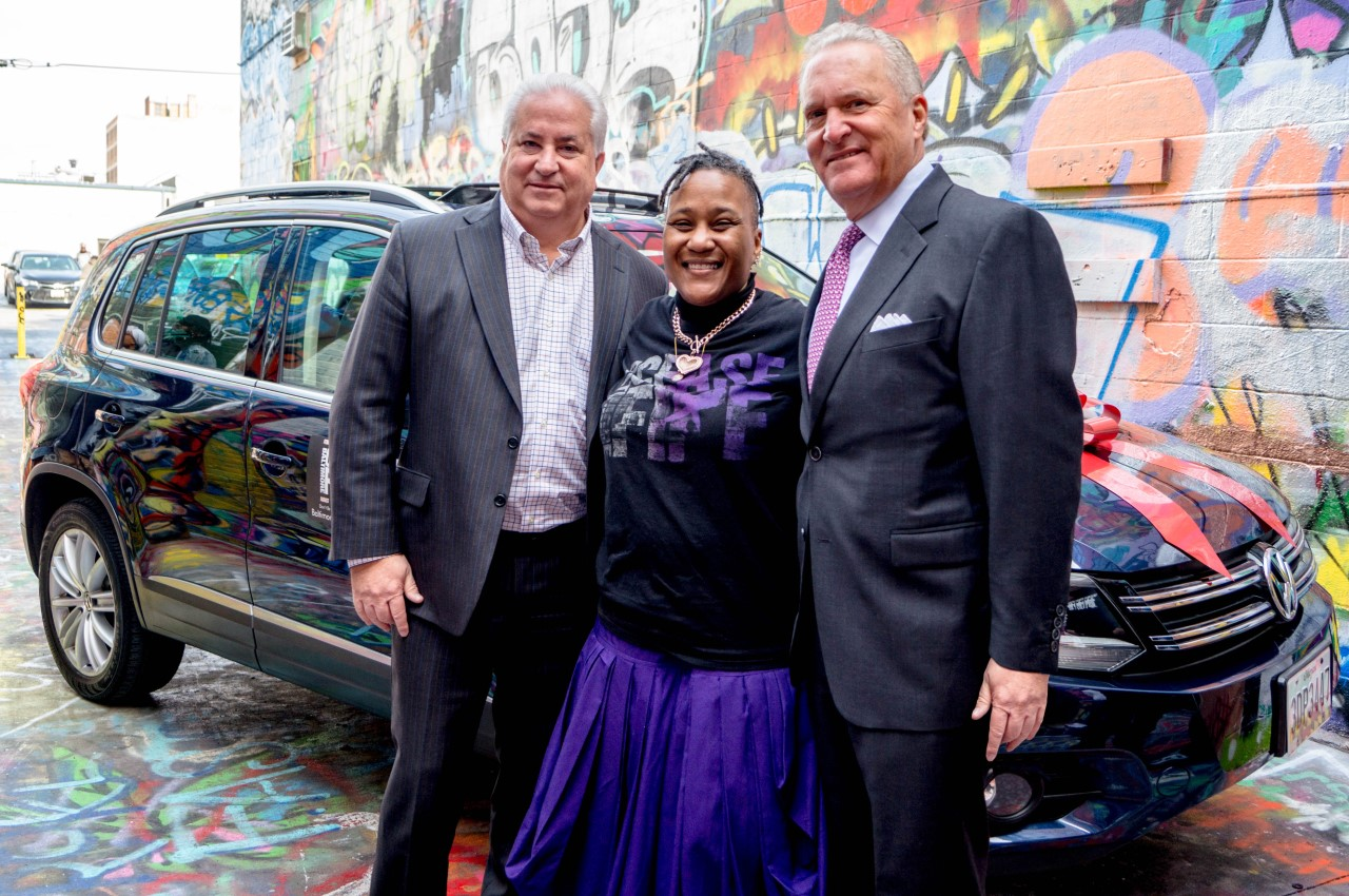 Heritage Mazda Towson >> Heritage Mazda - Heritage Donates Vehicle to Founder of Baltimore Ceasefire