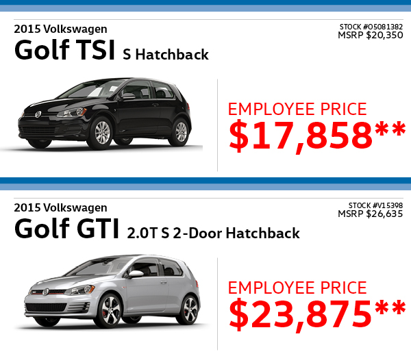 Heritage Volkswagen Subaru - You asked for it, now it's back! The Employee Pricing Event ...
