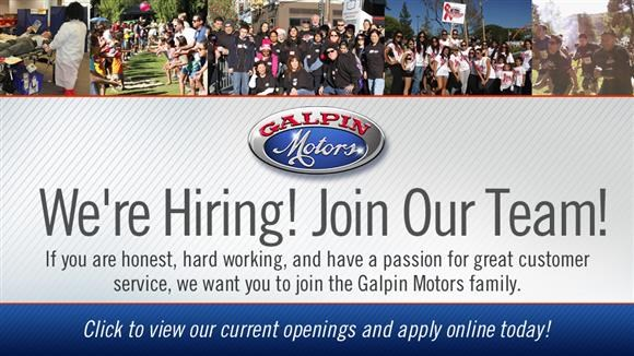 Galpin Employment Opportunities