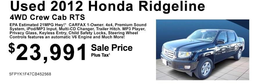 Used_2012_Honda_Ridgeline