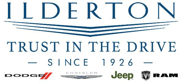 Ilderton Dodge Chrysler Jeep Ram Logo