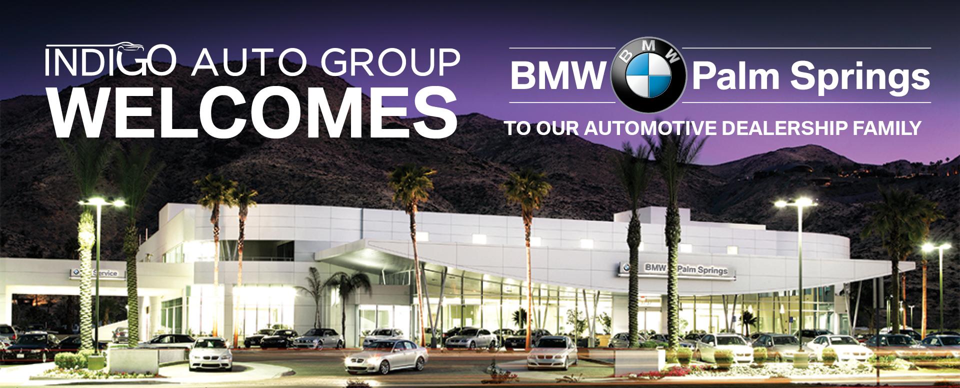 Desert European Motorcars >> Lamborghini Houston - Help Us Welcome BMW of Palm Springs to indiGO Auto Group