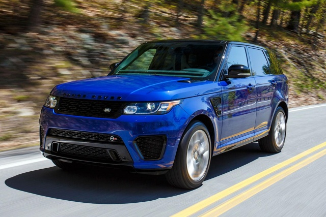 Jaguar Land Rover Cary First Drive 2016 Land Rover Range Rover