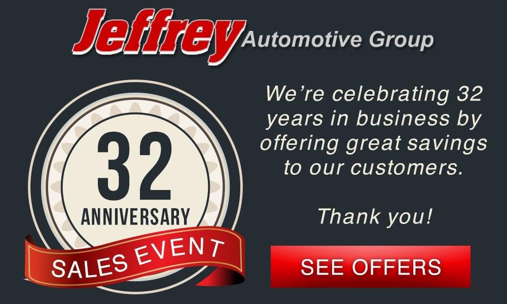 Jeffrey Auto Group Anniversary Sales Event