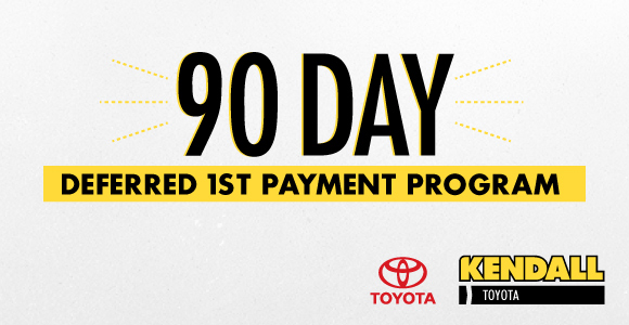 We Are Pleased To Bring You Toyota Financial Services And Toyota Motor  Sales 90 Day Deferred First Payment Program, In Effect Through June 1st!
