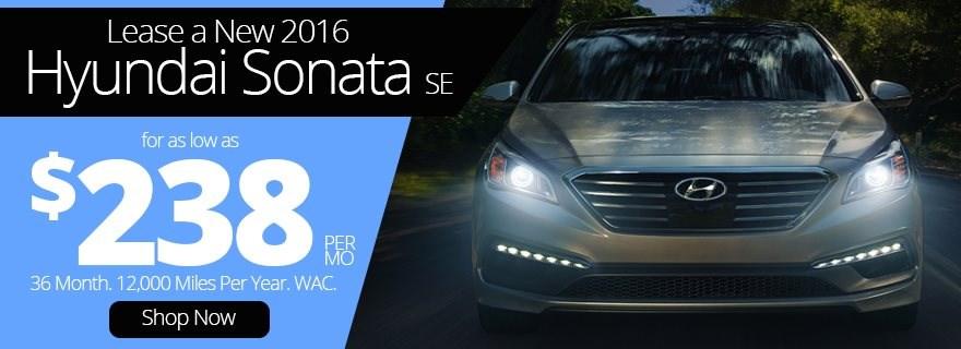 2016 Hyundai Sonata Lease