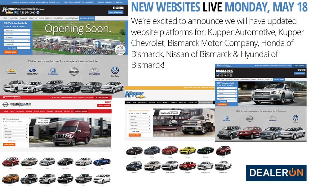 Kupper Automotive Websites